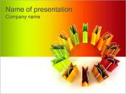 Shopping Bags PowerPoint Templates