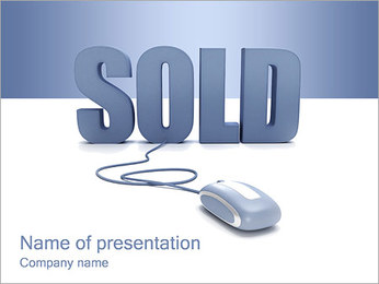 Sold PowerPoint Template