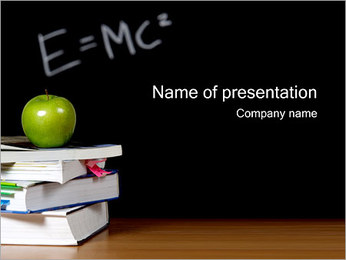 School Education PowerPoint Template