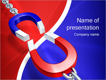 Magnet Attraction PowerPoint Template