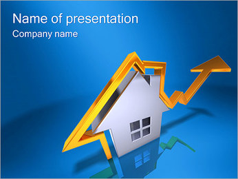Real Estate Rate PowerPoint Template