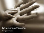 Otcovství PowerPoint šablony