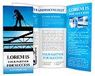 Construction Site Brochure Templates