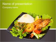 Grilled Lobster PowerPoint Templates