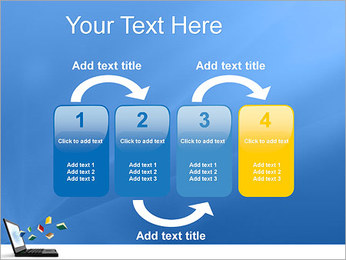Internet Library PowerPoint Template - Slide 11