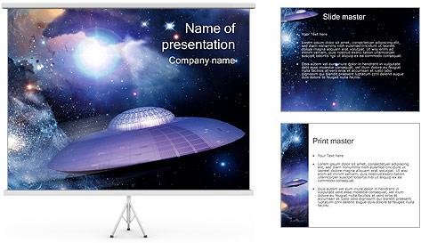 OVNI Modèles des présentations  PowerPoint