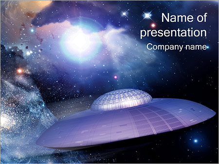 Ufo powerpoint template backgrounds id 0000000713 ufo powerpoint templates toneelgroepblik