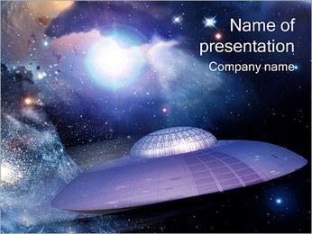 OVNI Modèles des présentations  PowerPoint - Diapositives 1