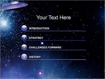 OVNI Modèles des présentations  PowerPoint - Diapositives 3