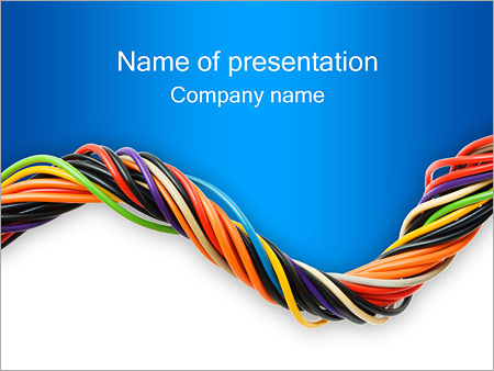 cable powerpoint template backgrounds google slides id rh smiletemplates com
