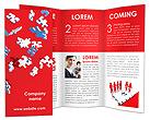 Falling Puzzles Brochure Templates