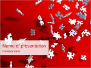 Falling Puzzles PowerPoint Templates