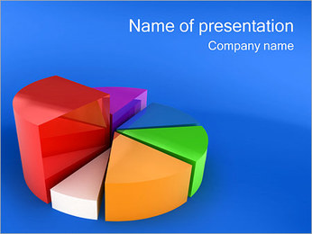 Pie Graph PowerPoint Template