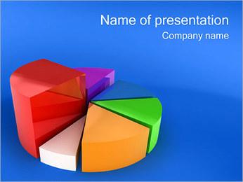 Pie Graph I pattern delle presentazioni del PowerPoint