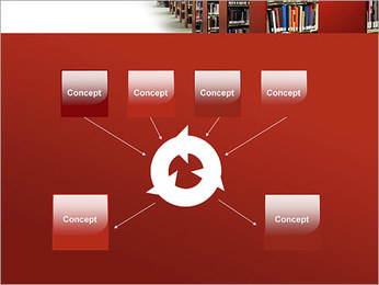 Library PowerPoint Template - Slide 10