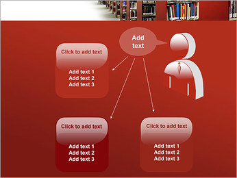 Library PowerPoint Template - Slide 12