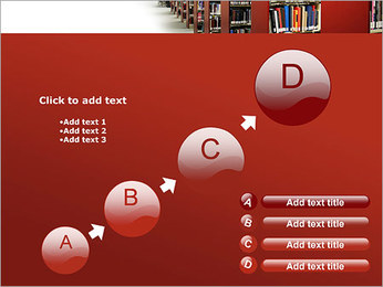 Library PowerPoint Template - Slide 15