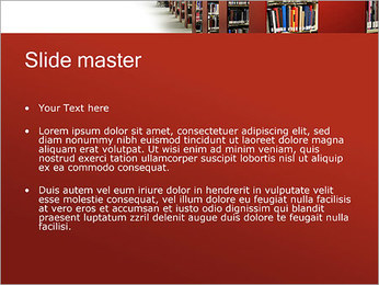 Library PowerPoint Template - Slide 2