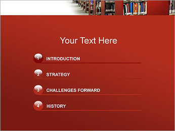 Library PowerPoint Template - Slide 3