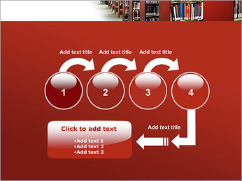 Library PowerPoint Template - Slide 4