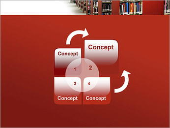 Library PowerPoint Template - Slide 5