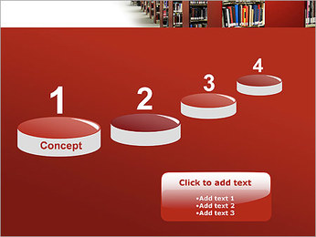 Library PowerPoint Template - Slide 7