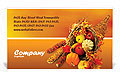 Thanksgiving Business Card Template
