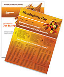 Thanksgiving Newsletter Templates