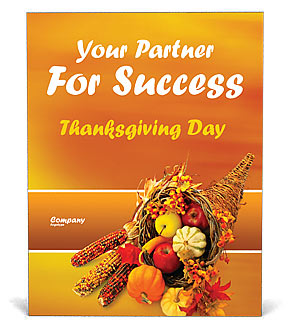 Thanksgiving Poster Template & Design ID 0000000721 ...