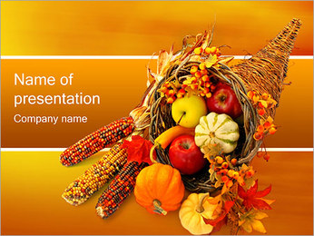 Thanksgiving PowerPoint Template