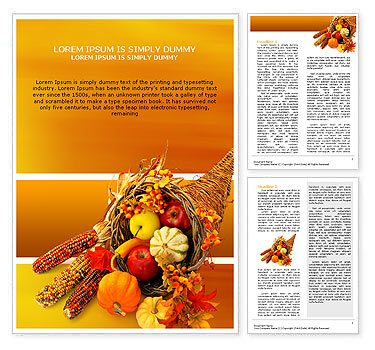 Thanksgiving word template design id 0000000721 smiletemplates thanksgiving word template maxwellsz