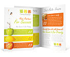 Fitness Brochure Templates