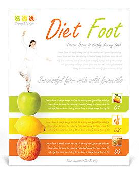 Fitness Flyer Template & Design ID 0000000722 - SmileTemplates.com