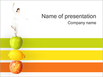 Fitness PowerPoint presentationsmallar