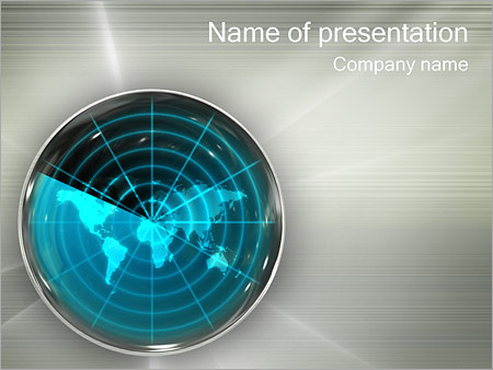 Military powerpoint templates backgrounds google slides themes global radar powerpoint template toneelgroepblik Image collections