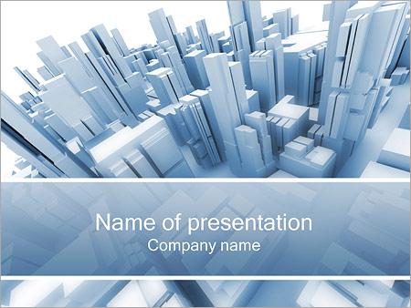 Мегаполис Шаблоны презентаций PowerPoint