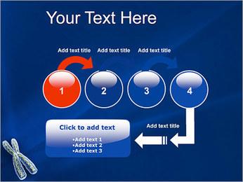 Chromosome Modèles des présentations  PowerPoint - Diapositives 4