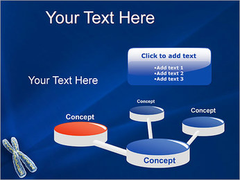 Chromosome Modèles des présentations  PowerPoint - Diapositives 9