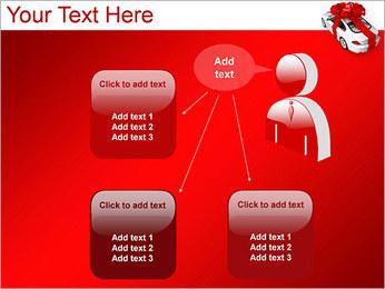 Voiture cadeaux Modèles des présentations  PowerPoint - Diapositives 12