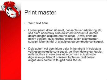 Voiture cadeaux Modèles des présentations  PowerPoint - Diapositives 24
