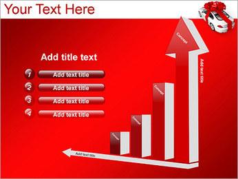 Voiture cadeaux Modèles des présentations  PowerPoint - Diapositives 6
