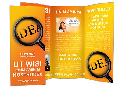 Rechercher Idées Les brochures publicitaire