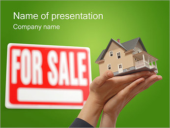 Home for Sale PowerPoint Template