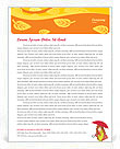 Autumn Season Letterhead Template