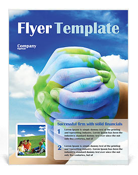 Mother Earth Flyer Template