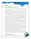 Mother Earth Letterhead Template