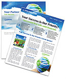 Mother Earth Newsletter Template
