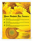 Sunflowers Flyer Templates