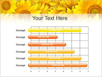 Tournesols Modèles des présentations  PowerPoint - Diapositives 17