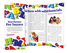 Colorful Letters Brochure Templates